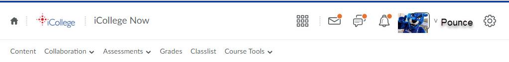 Default course navigation image