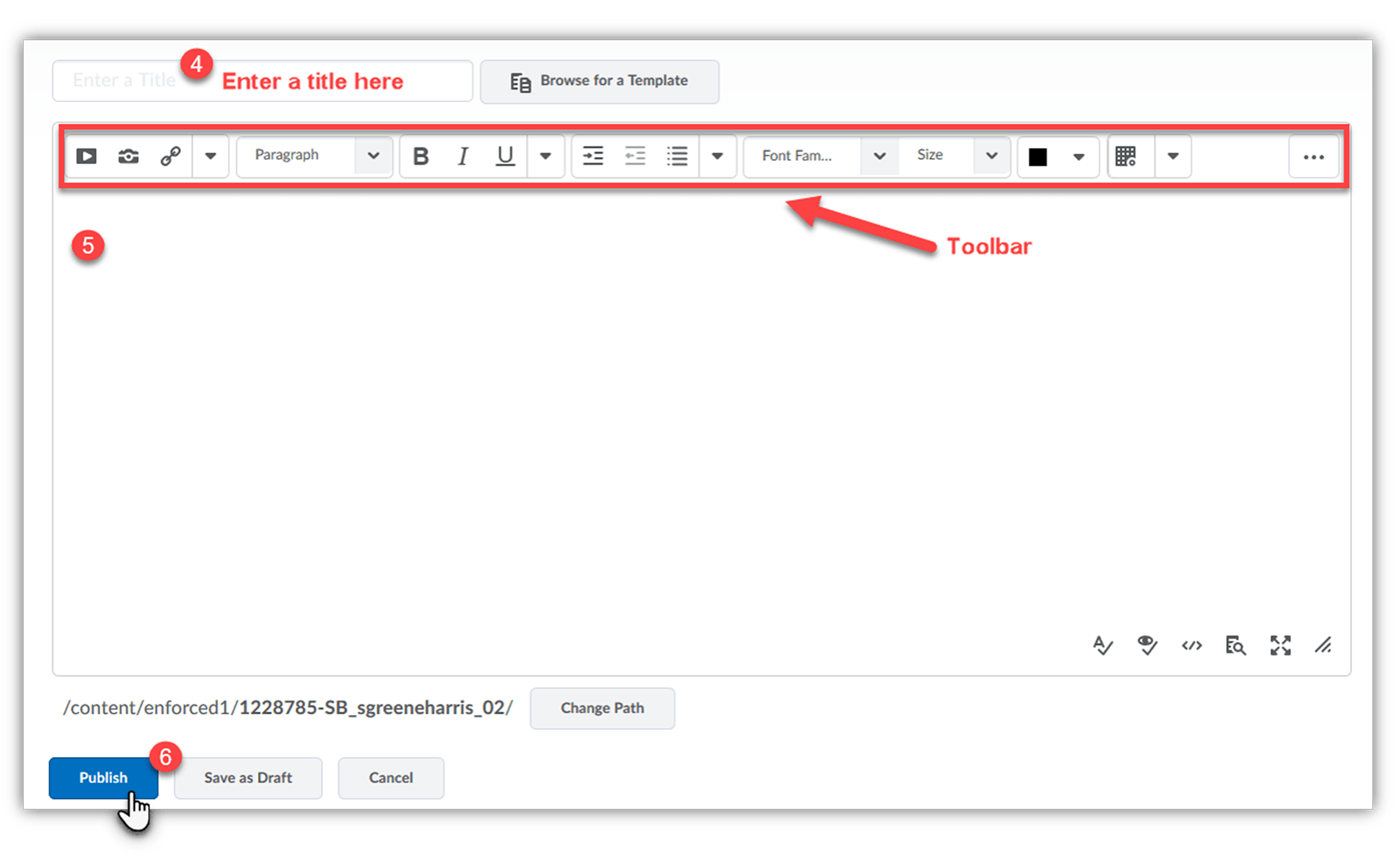 HTML Editor Window