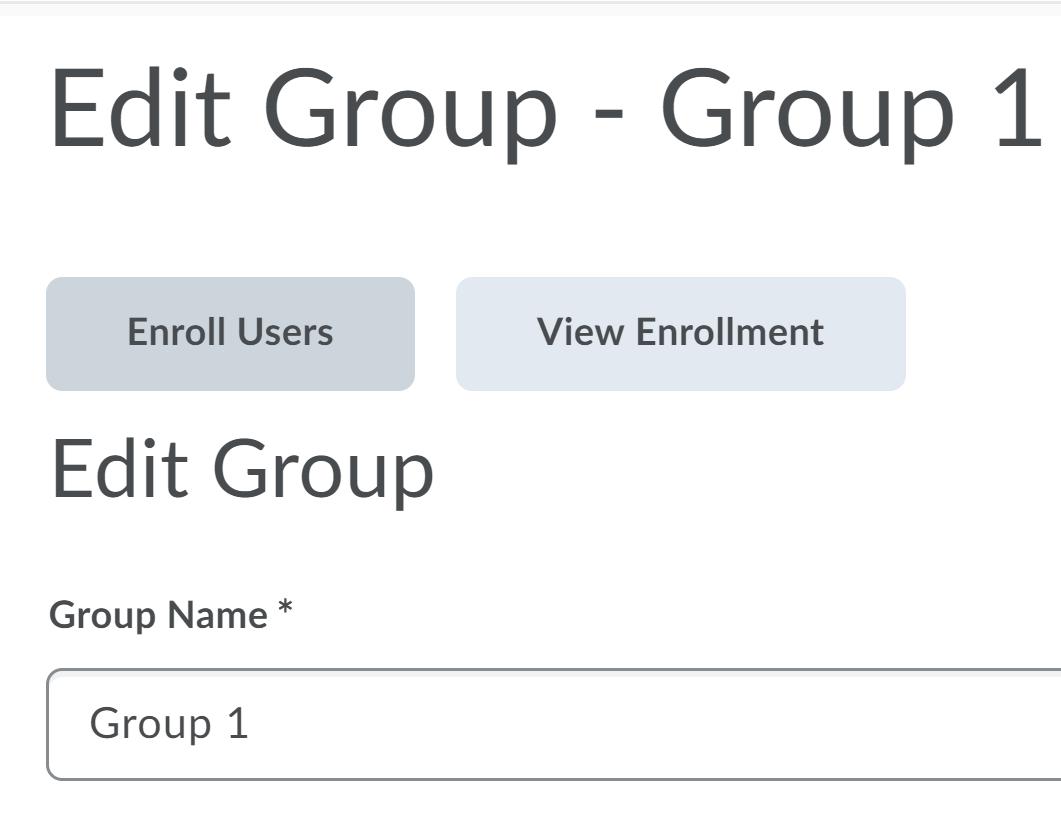 Change group name